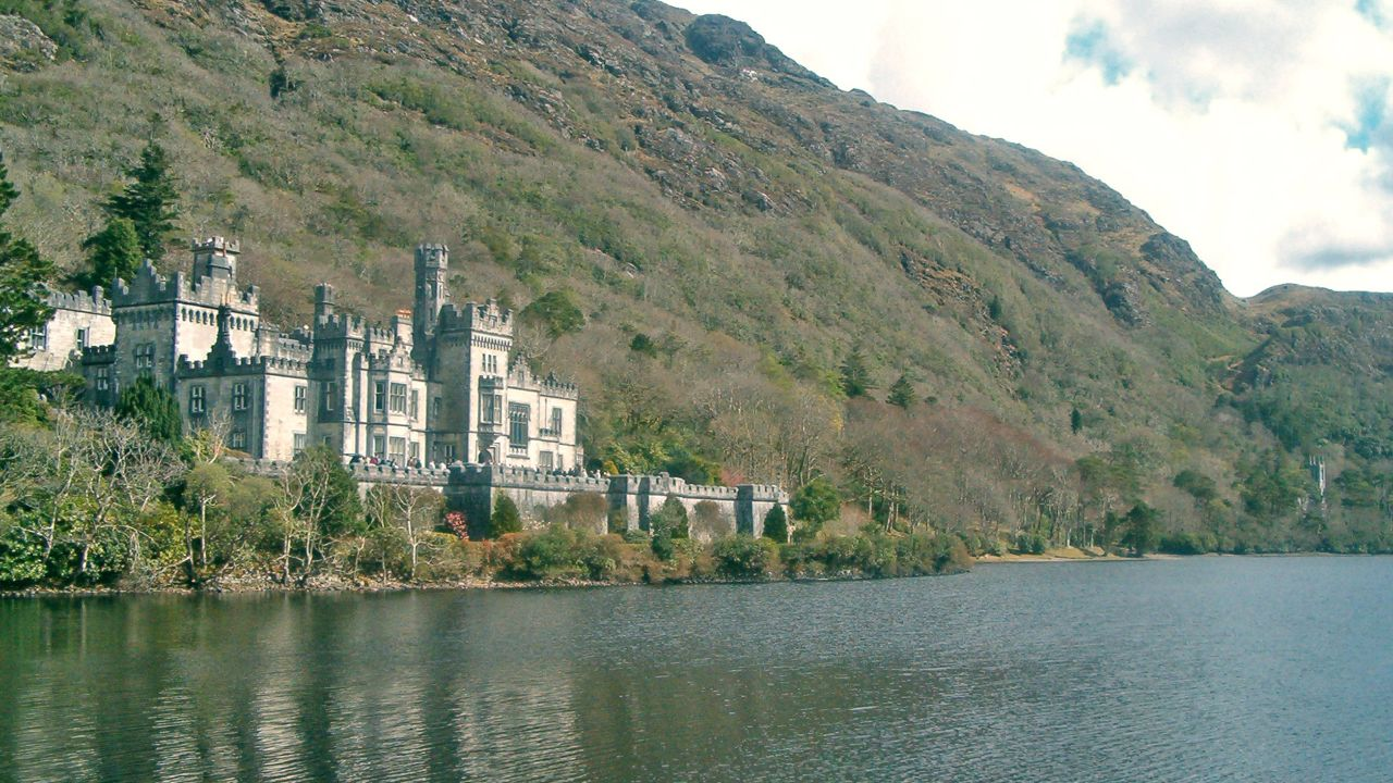 Kylemore Abbey in Connemara.